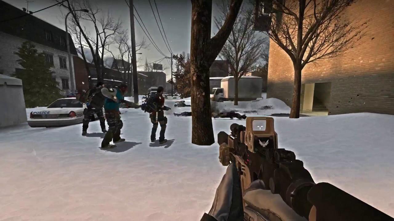 Left 4 Dead 2 The Division Kriss Vector Mod