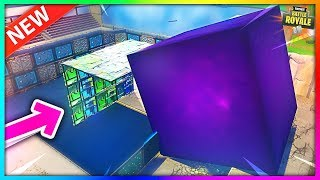 Que se passe-t-il si VOUS LOCK THE Cube BEFORE IT'S FALLING TO BALSA BUTTON!? Fortnite - BySixx