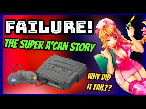 Why The Super A'Can Failed! - Rare Console History
