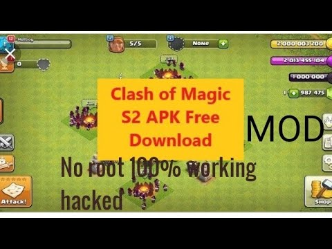 Coc s2 mod apk, unlimited gems,coin,troops 2019 new version 100% working