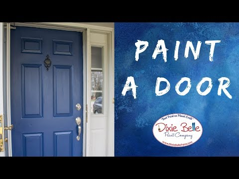 Front Door Paint Makeover In Less than a Day!
