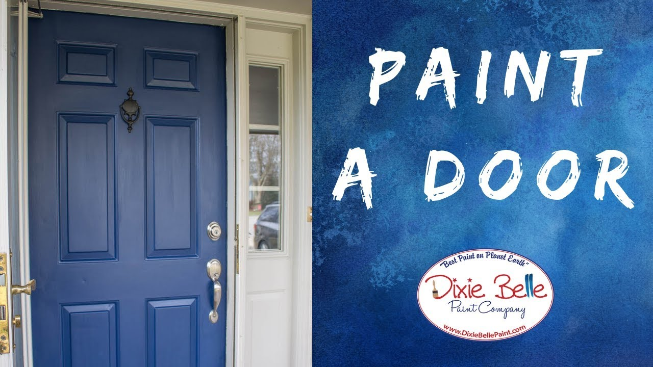 Front Door Paint Makeover In Less Than A Day Roots Wings Furniture Youtube