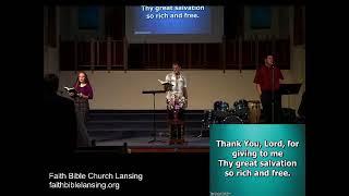 """God is Faithful"" - Sunday Morning Service - 16 August 2020"