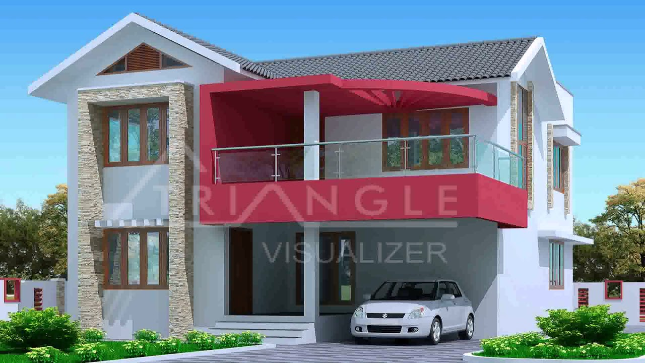 Attractive Small Home Design With Front Balcony