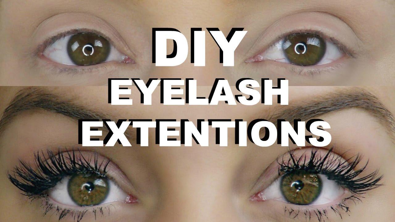 Diy Permanent Eyelash Extensions Katie Ballard
