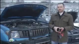 Чудо техники на НТВ. Компактные пуско-зарядные устройства облегчат жизнь автомобилистам зимой
