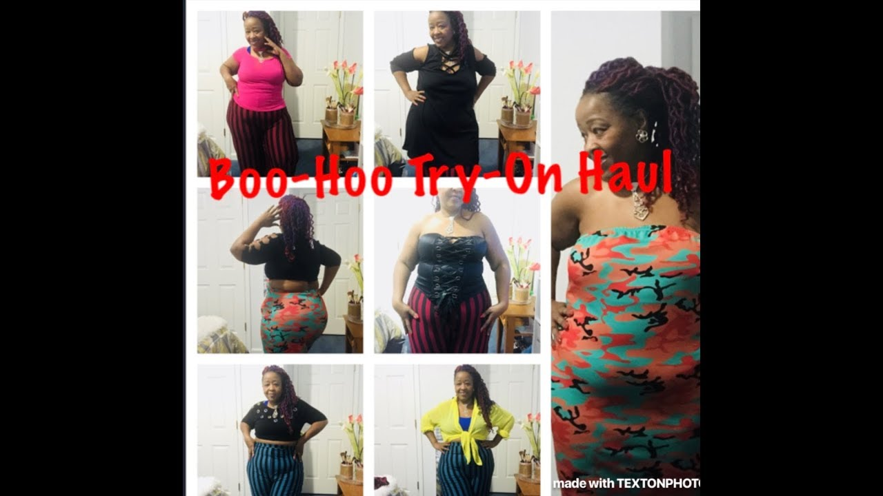 [VIDEO] - CURVY Boohoo Plus Size Haul   Fall   Spring/ Slay & Casual Wear 5