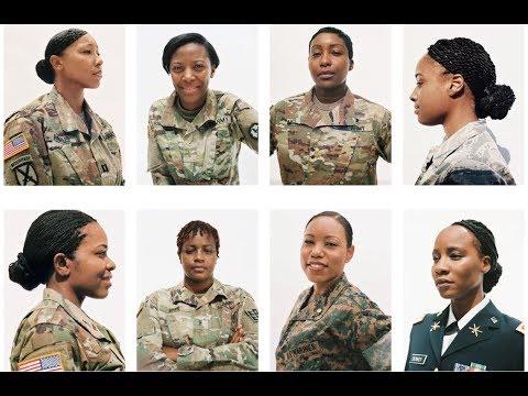 Black Women Hair In Basic Training Youtube