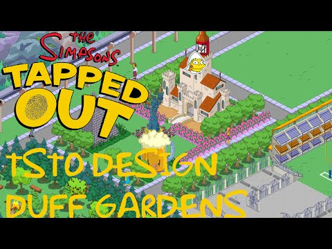 duff gardens on the simpsons
