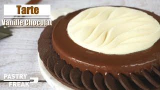 TARTE CHOCOLAT VANILLE - Recette Ebook Vol.1