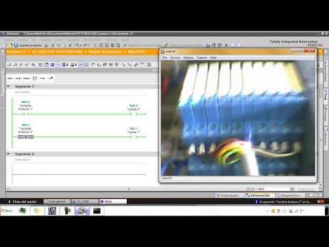 TIA Portal  S7-1200 + LabVIEW (NI OPC Server)