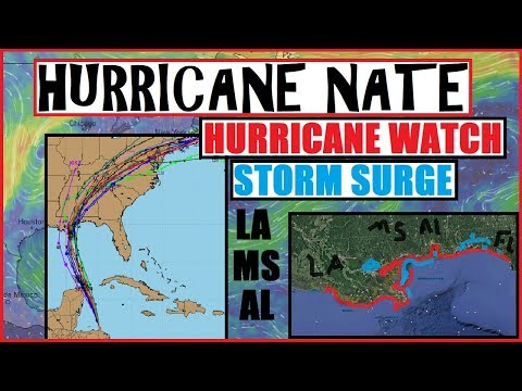 Hurricane NATE Update! Confidence HIGH On LOUISIANA/MISSISSIPPI Land-Fall!