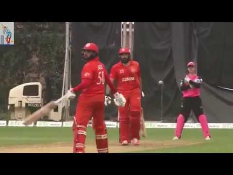 Misbah hits 6 sixes in 6 balls - Hongkong T20 2017
