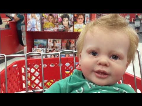 Reborn Reaction Reborn Toddler Collin At Target