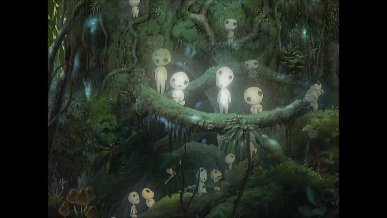 Image result for tree spirit princess mononoke