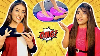 We Tested Crazy Viral Life Hacks To See If They Work Ft. Samreen Ali | Mahjabeen Ali