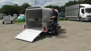 Sheep and Pig trailer SP64S/SP74S