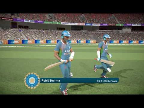 PS4 Don Bradman Cricket 17 FIVE5 Pakistan v India Gameplay