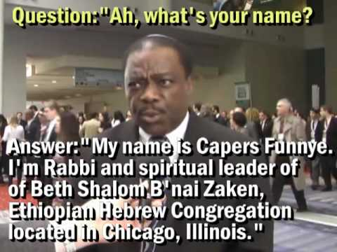 Rabbi Capers Funnye gives informed consent and release to video interview & dissemination