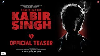 Presenting the official #KabirSingh teaser! Doctor. Lover. Rebel. The upcoming Bollywood movie Kabir Singh is starring Shahid Kapoor and Kiara Advani.