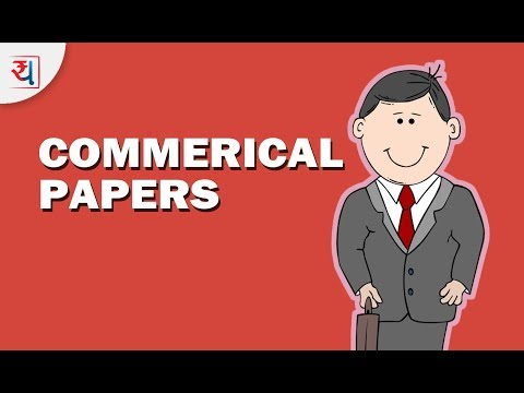 What is a Commercial Paper? | Commerical Paper - Money Market Instrument in India