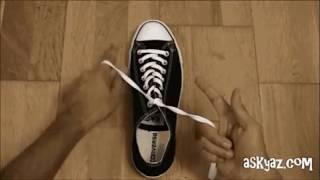 Как научится завязывать шнурки
