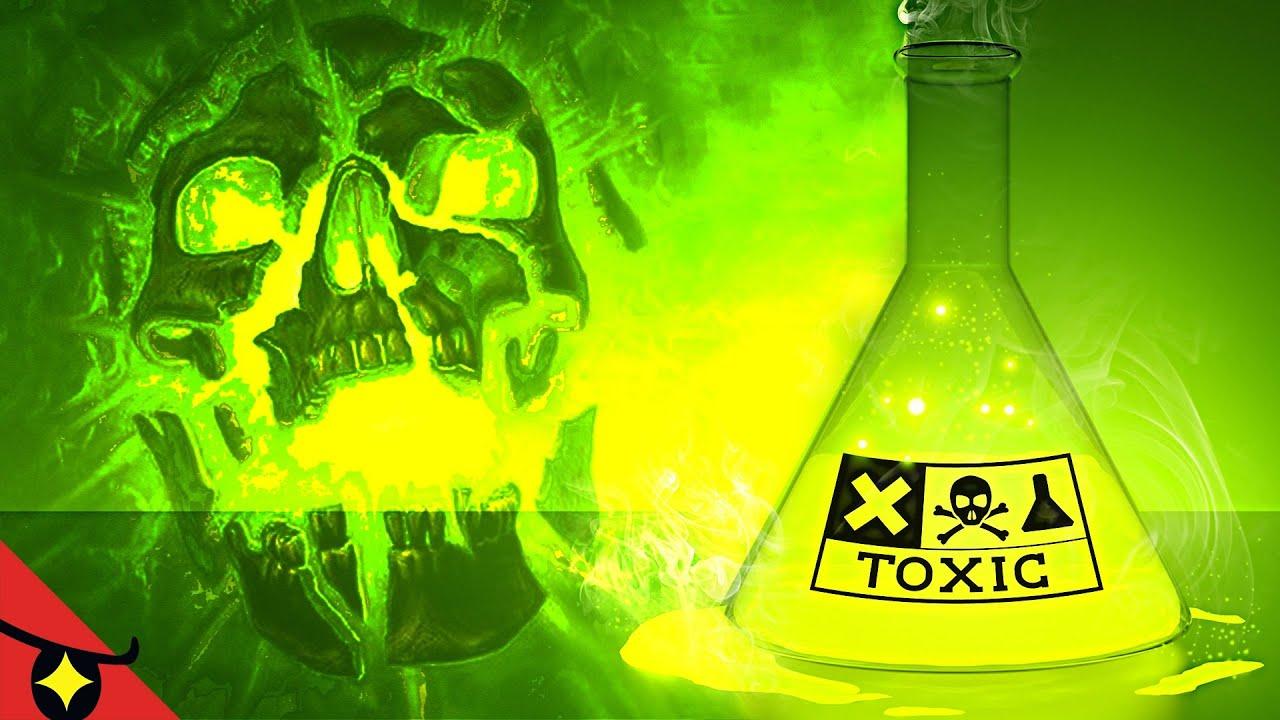 10 SUBSTANCES les plus TOXIQUES au monde 🧪