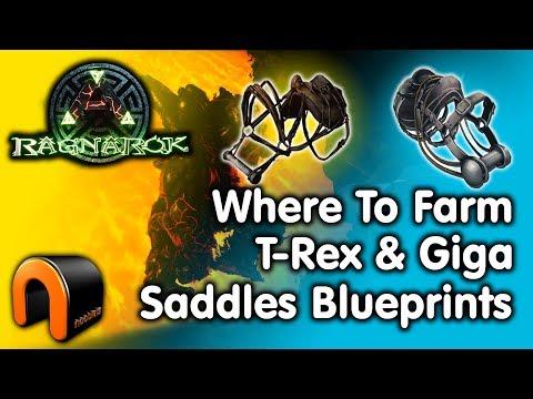 Ark where to farm rex giga saddle blueprints malvernweather Choice Image
