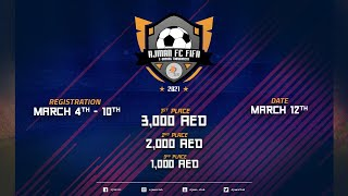 AJMAN FC FIFA E-GAMING TOURNAMENT