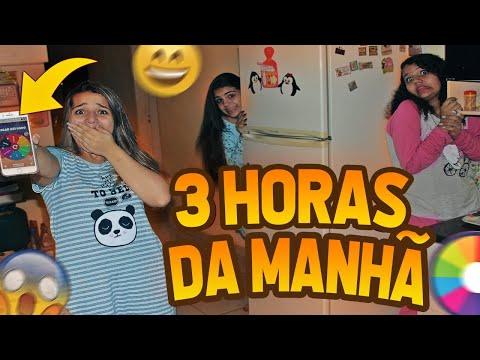 NÃO GIRE A ROLETA AS 3 HORAS DA MANHÃ