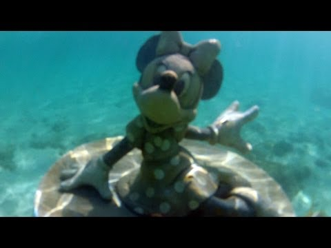 Disney Cruise Castaway Cay Full Snorkeling Experience with Sunken Mickey, 20K Sub, Minnie Statue
