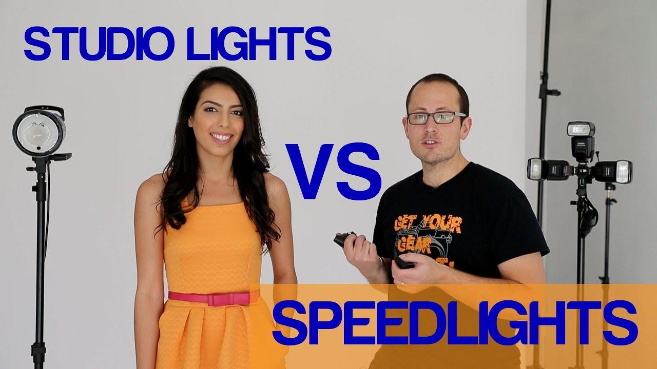 sc 1 st  YouTube & Speedlights vs Studio Strobes - YouTube azcodes.com