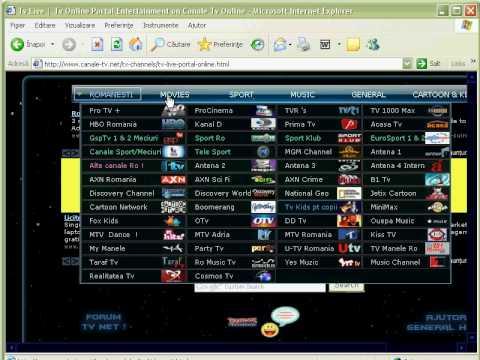 CUM SA FACILITEZI DE PROGRAME TV GRATUIT  GSP, HBO etc