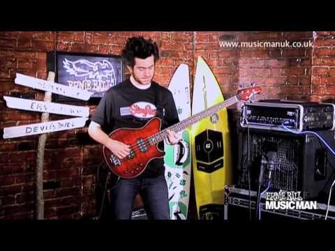 Ernie Ball Music Man - 25th Anniversary Model - Demo by Dave Marks