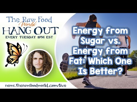 Hangout: Energy from Sugar vs. Energy from Fat: Which One Is Better?