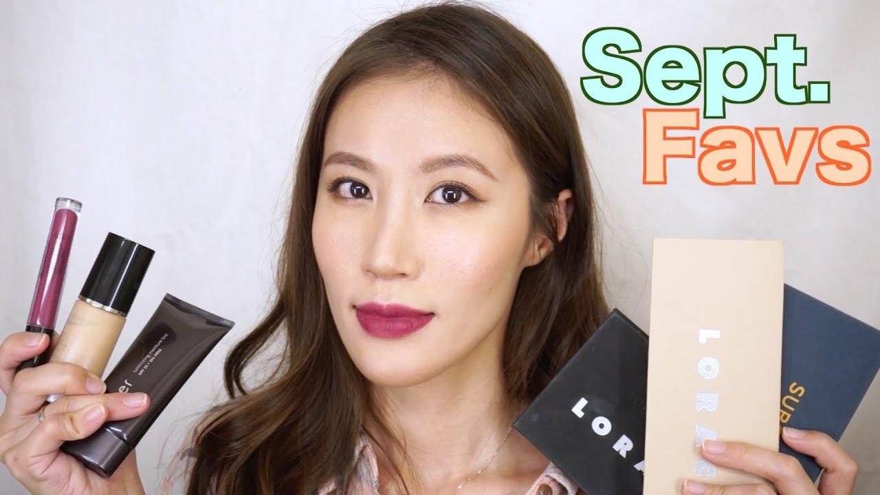 Celeste Wu 大沛   2017年9月彩妝愛用品 ∥ 2017 September Beauty - YouTube