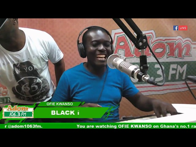 Ofie Kwanso Freestyle Friday with Black i (19-10-18)