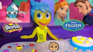 Disney Pixar Inside Out Joy Controls Frozen Prince Hans, Monster High Whisp & Shopkins Cookieswirlc