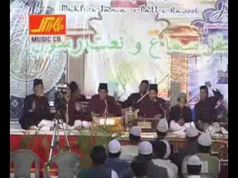 sarwar e anbiya tajdar e haram qawwali-mohammed qawwal part 1/2