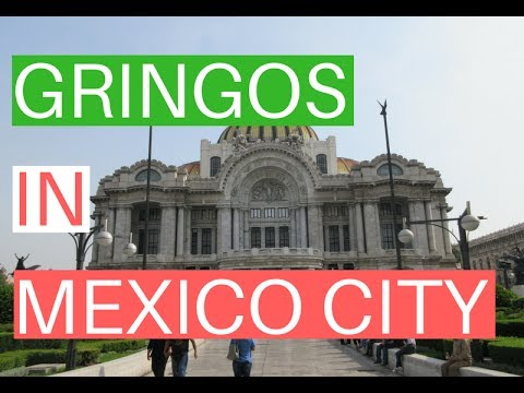 Gringos in Mexico City // Mexico City Vlog