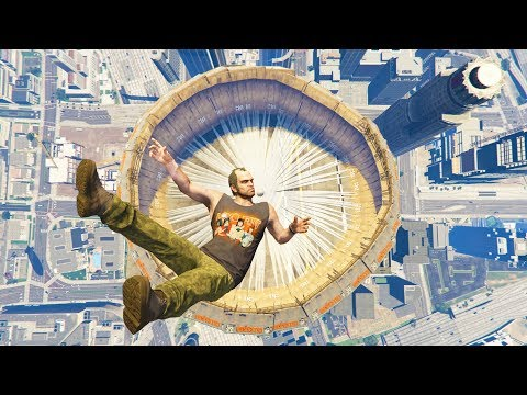 GTA 5 Jumps/Falls Ragdolls Compilation #6 (Euphoria physics - Funny Moments)