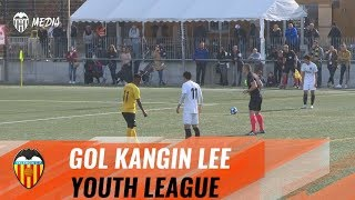 GOL DE KANGIN LEE DE FALTA DIRECTA EN LA YOUTH LEAGUE ANTE EL BSC YOUNG BOYS (3-3)