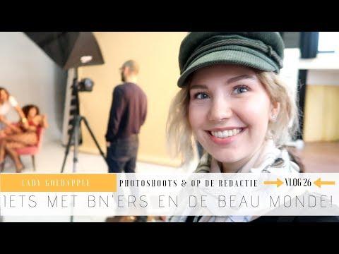 Beau Monde Fotoshoot met BN'ers in Amsterdam