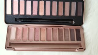 w7 urban decay dupe palettes haul and review