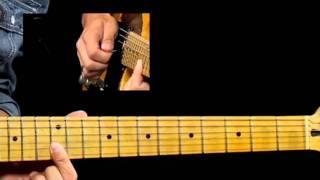 50 Texas Blues Licks - #19 Double Stop Lenny - Guitar Lesson - Corey Congilio
