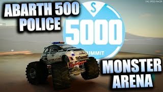 Abarth 500 Police Monster - Monster Arena - The Crew Calling All Units