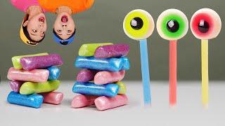 NIK-L-NIP Wax Bottle Candy DONA Mukbang