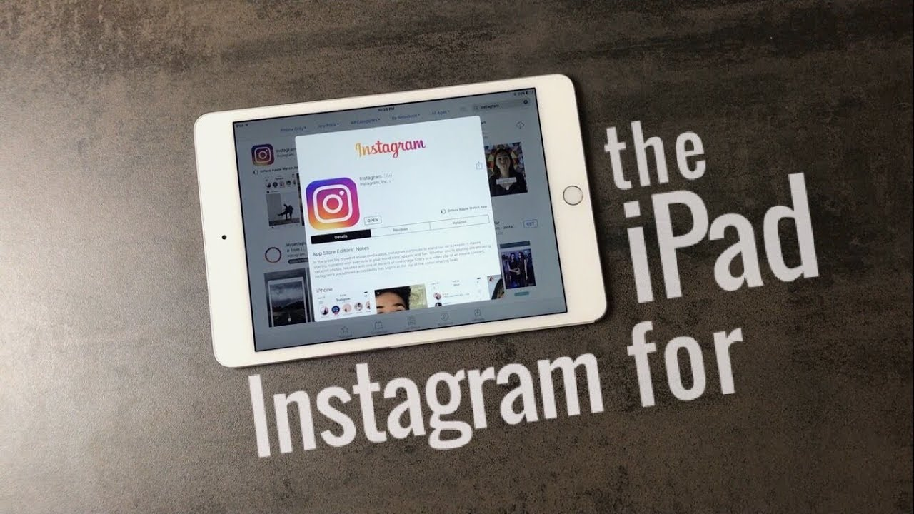 How to change your instagram username and password on ipad mini
