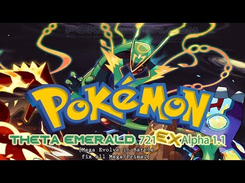 Pokemon Theta Emerald 721 EX Alpha 1.1 - Review