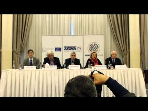 2015 Turkey (early parliamentary) - post-election press conference